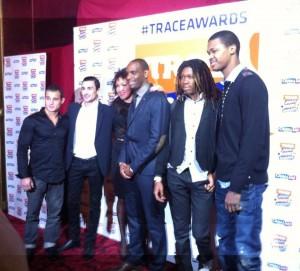 Trace Awards ensemble des athlètes