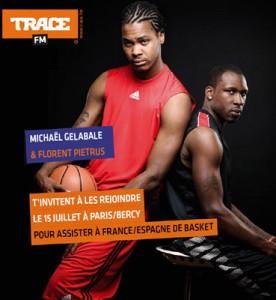 Gelabale et Piétrus pour Trace FM, en février 2012