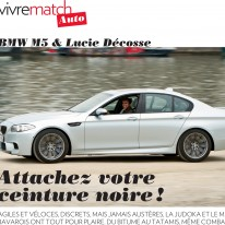Lucie dans Paris Match, 08/2012