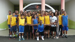 Basketball Workshop Florent Piétrus 2013